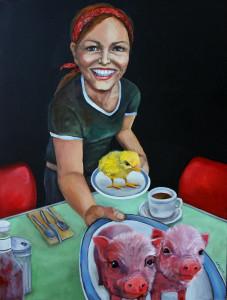 Eggs & Bacon by Dana Ellyn