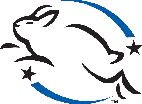 The Leaping Bunny Logo